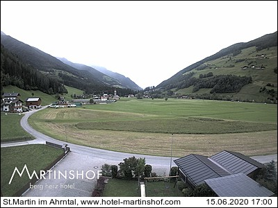 Webcam Hotel Martinshof nella Valle Aurina